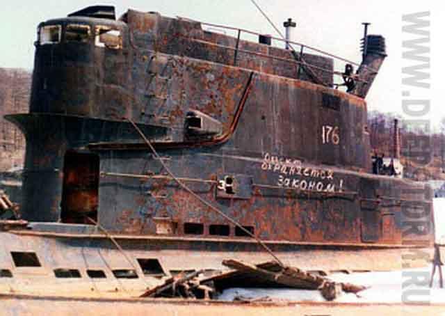 подводная лодка проект 628
