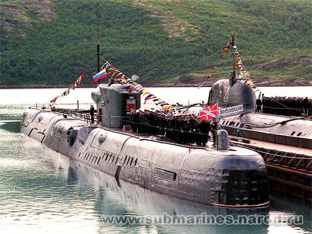 все о подводных лодках 675 проекта